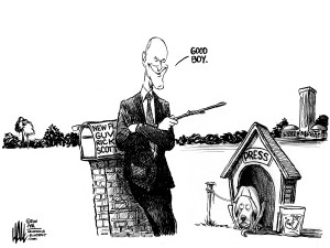 Cartoon by Ed Hall